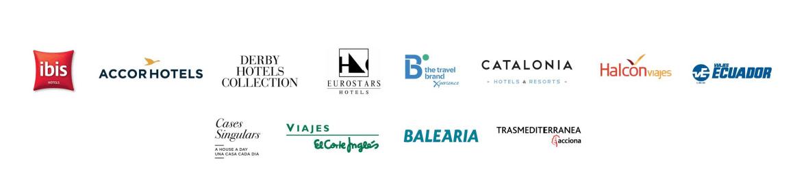 Logos de empresas para prácticas
